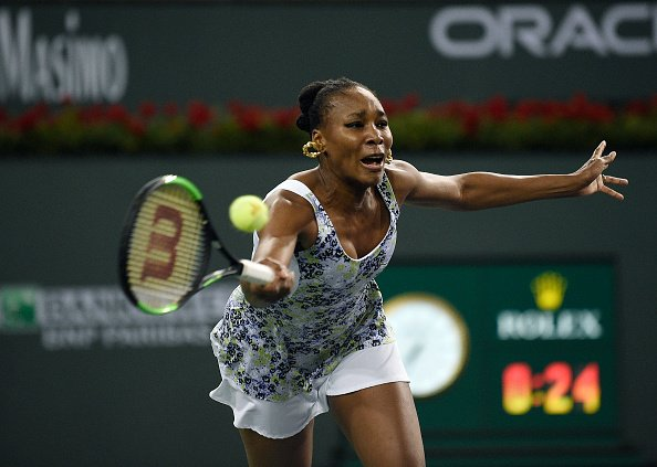 a78eb7149d The best moments of the first round match between Venus Williams and Andrea  Petkovic in Indian Wells.