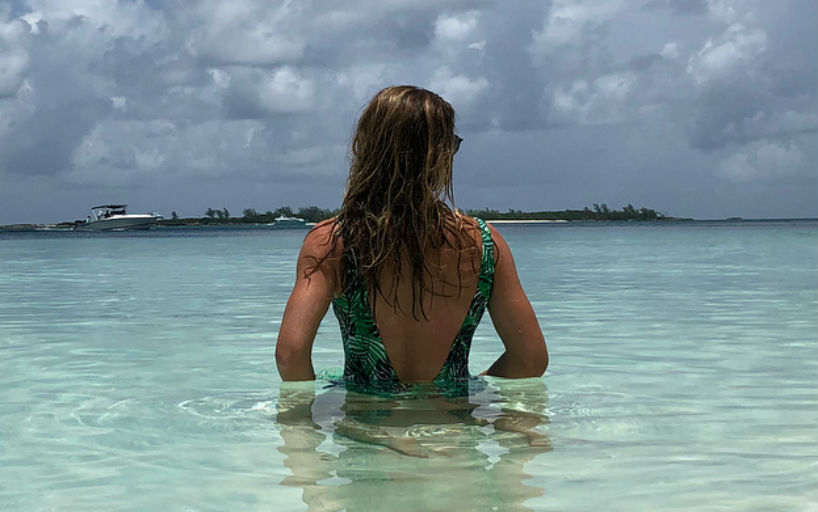 Simona Suit Halep A Bathing In Shared Snapshot 8n0XPwOk